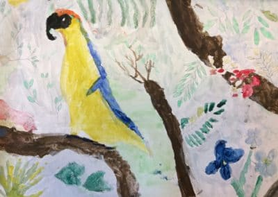 Edward painting