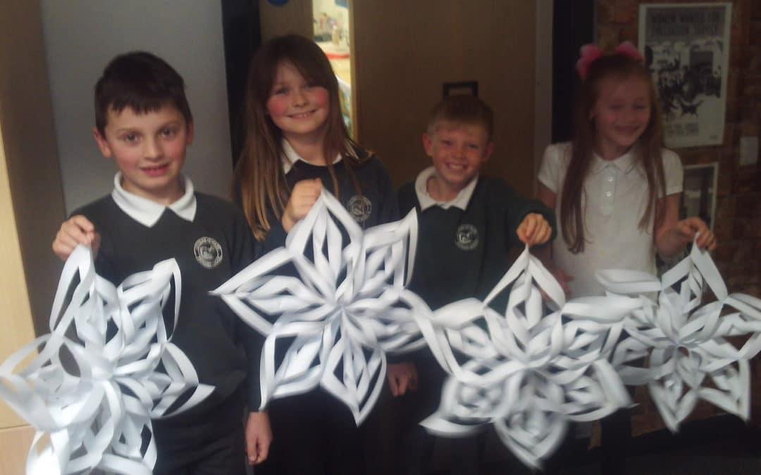 Class 9 Christmas Crafting