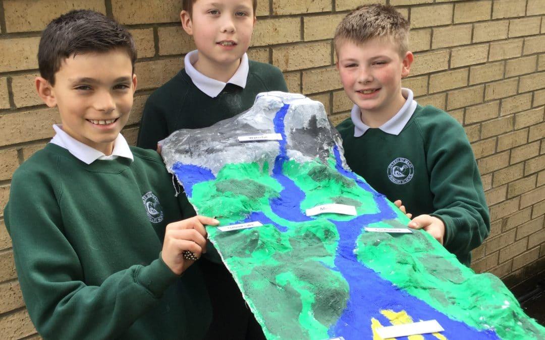 Year 5 3D River Models  Class 11