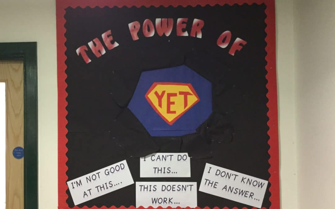 The power of 'yet.'