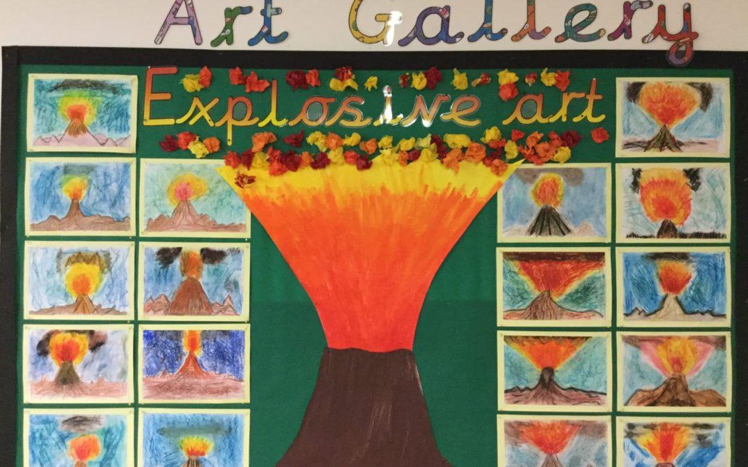 Explosive art!