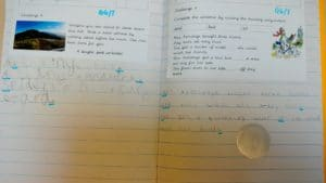 Ciara's fantastic writing!