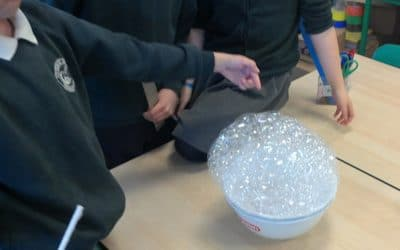 Brilliant Bubbles in Year 4